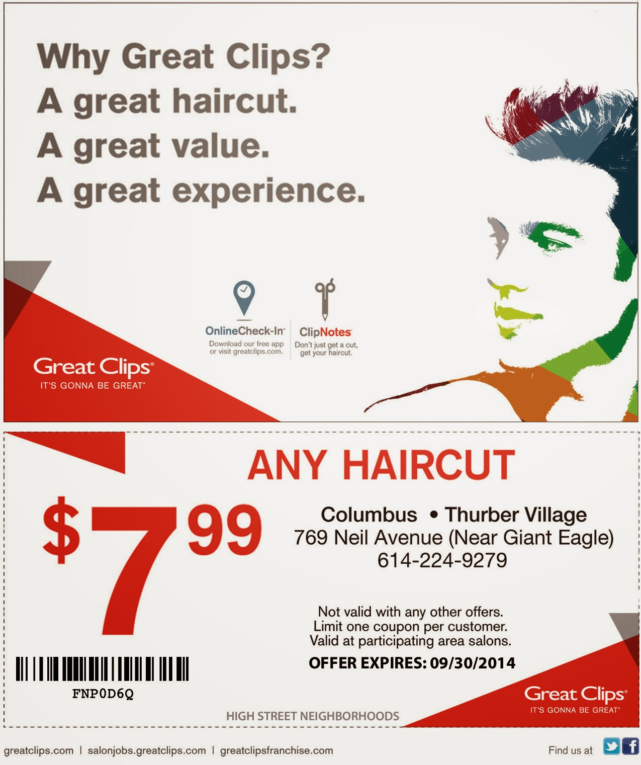 great haircut deals great coupons october 2018 printable save mart 3216