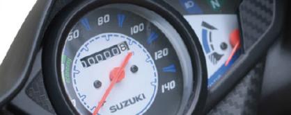 Panel de control, Suzuki Hayate