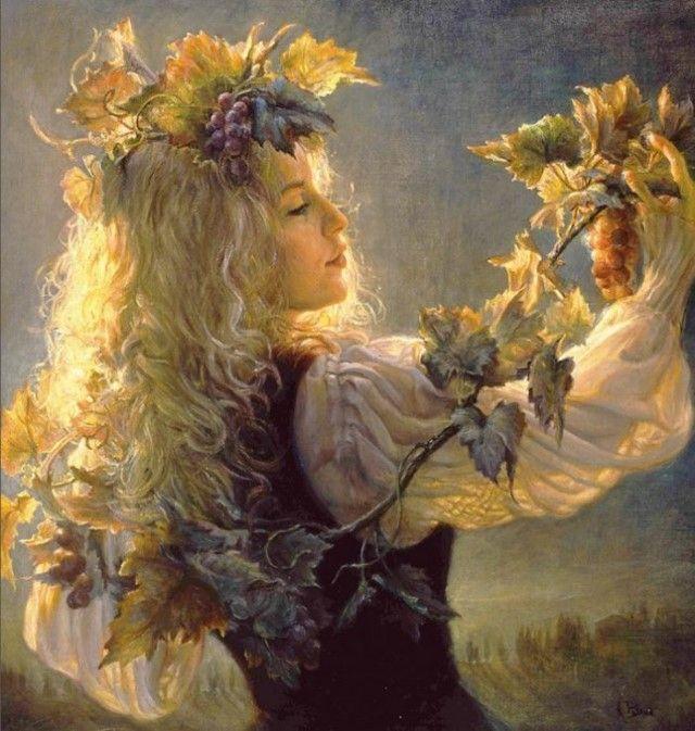 Канадский художник. Helene Beland
