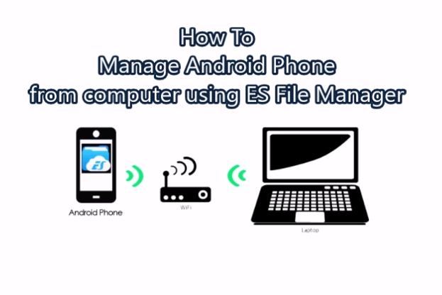 How to manage Android phone from computer