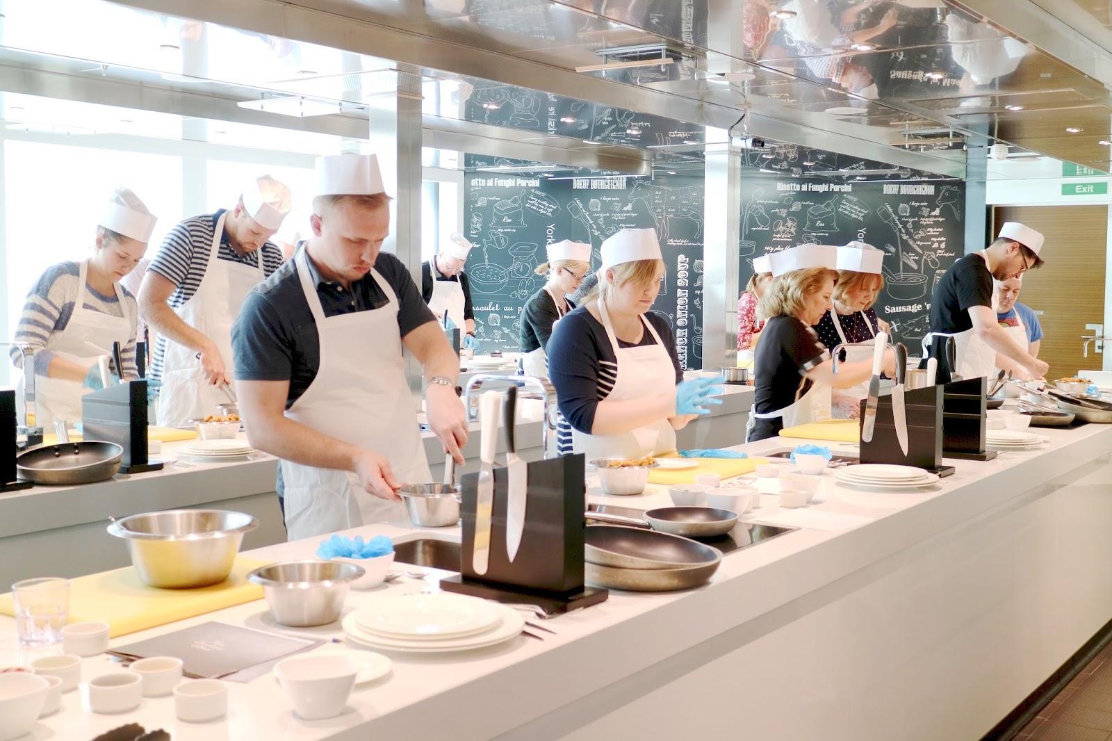 P&O Britannia Cookery Class