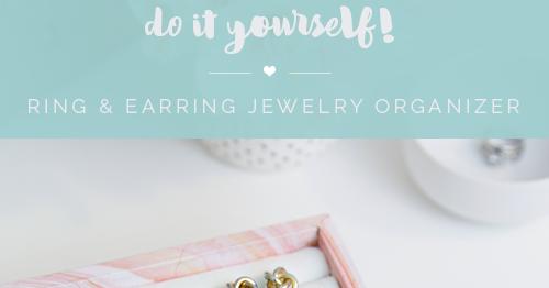 Iheart organizing diy ring earring jewelry organizer solutioingenieria Images