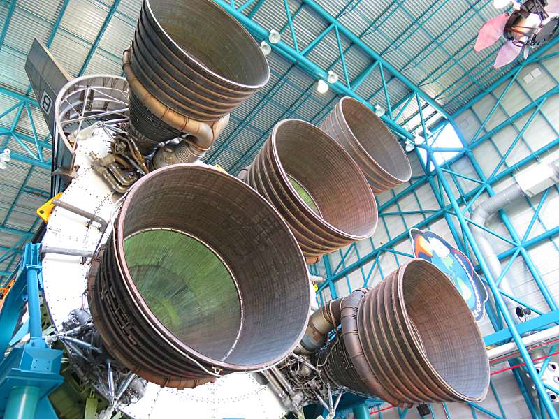 Saturn V rocket propulsion system