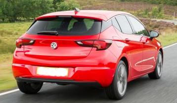 Vauxhall Astra GTC Rear draw