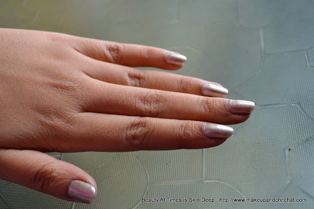 Elle 18 Colorpop Nail Polish Silver Dust