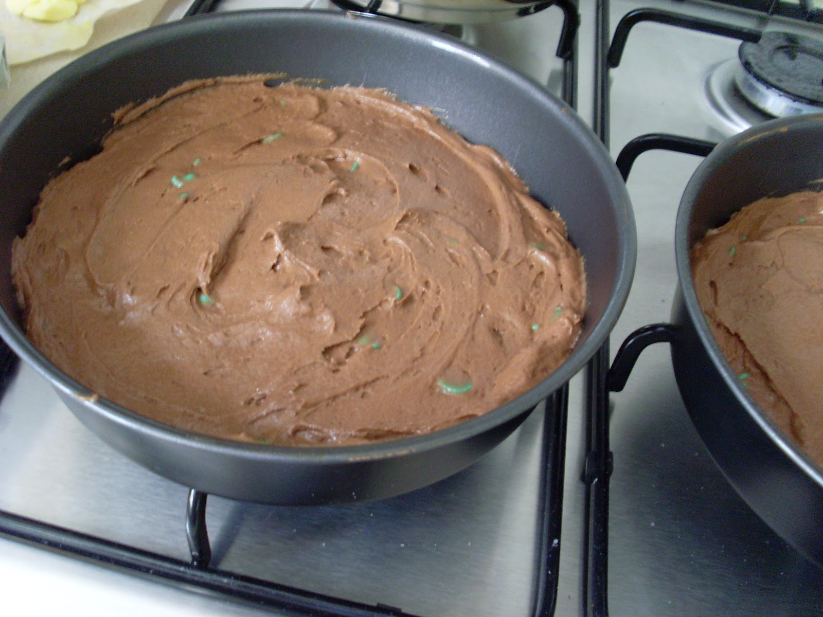 Cake Recipe With Icing In The Batter: Cakeyboi: Chocolate Mint Chip Cake (with Mint Choc Chip