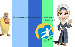 Download RPP Bahasa Arab MTs Kurikulum 2013 Kelas VII Revisi 2016