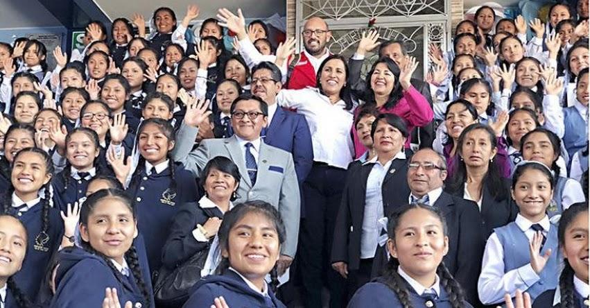 Meritocracia debe prevalecer en contratación de docentes, sostuvo la Ministra de Educación Flor Pablo Medina - www.minedu.gob.pe