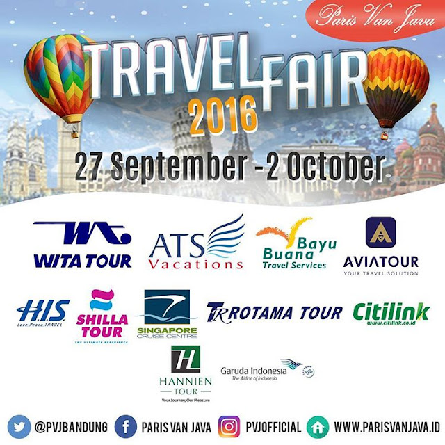 Paket Liburan di Paris Van Java Travel Fair 2016