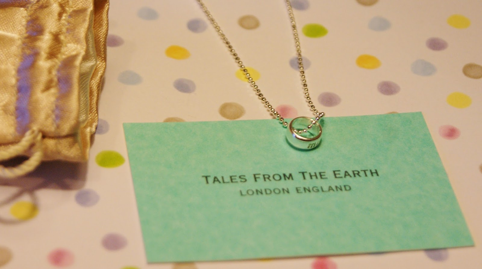 Tales of The Earth Word Circle Necklace