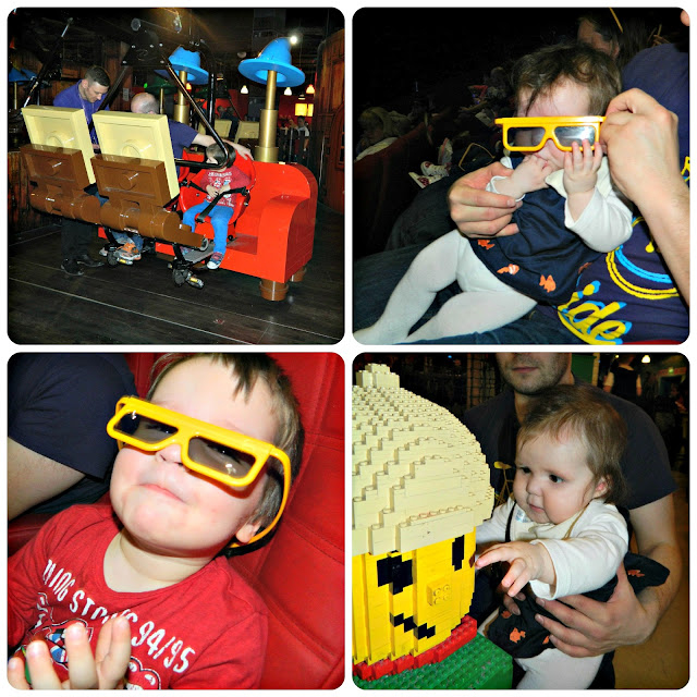 Bud and Little Miss enjoying the LEGOLand Discovery Centre Manchester