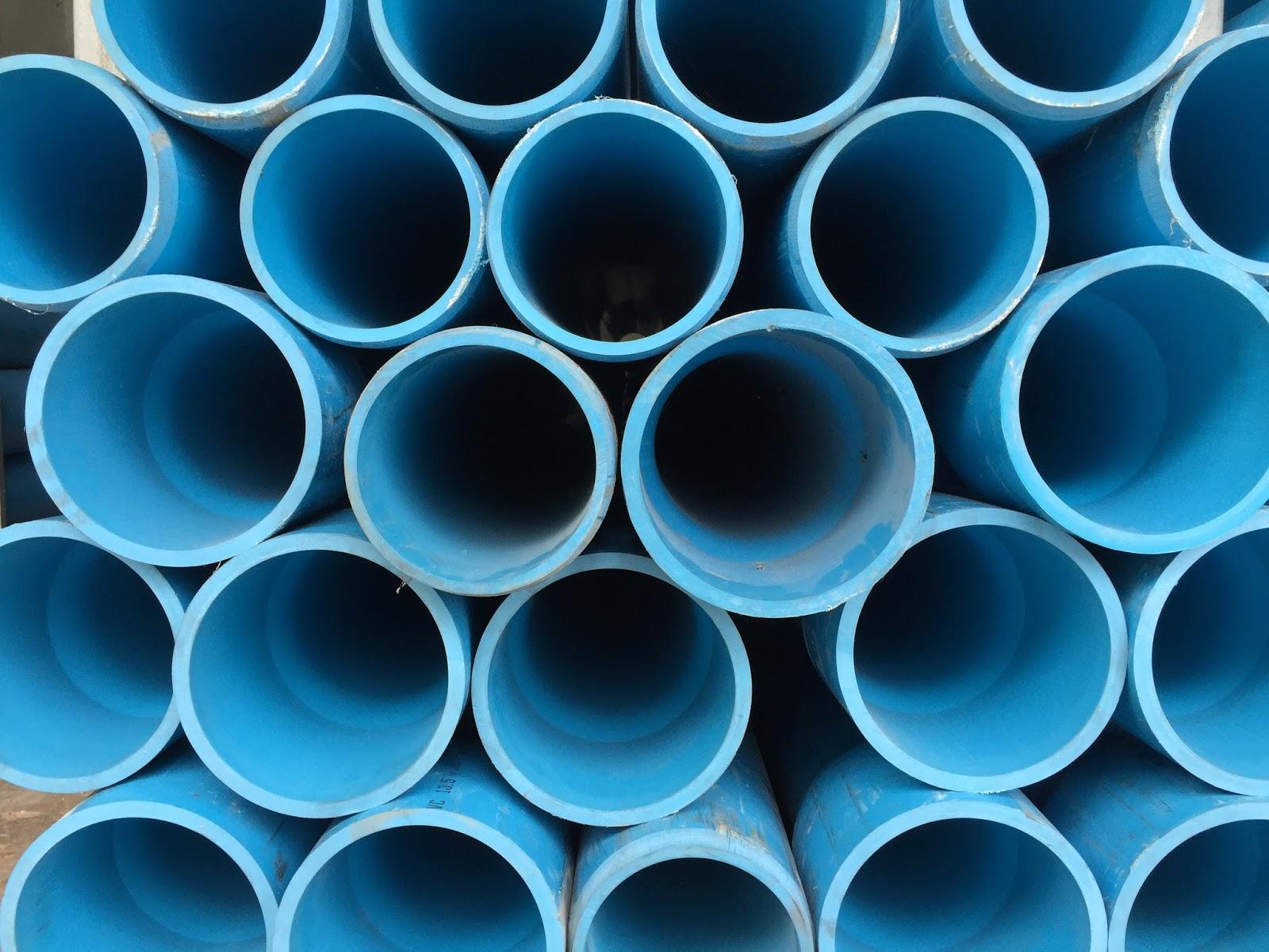 ท่อพีวีซีสีฟ้า Pvc Pipes For Water Supply บจก สุราษฎร์