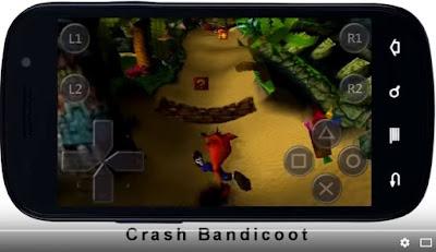 psx emulator android crash bandicoot