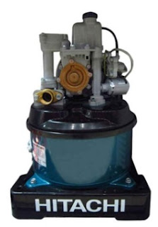 Daftar harga dan spesifikasi  pompa air merk Hitachi WTP 300 GX