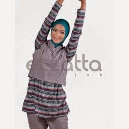 Model Baju Muslim Senam Wanita Terbaik 2015