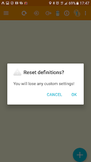 Reset to Default Values (Lenses)
