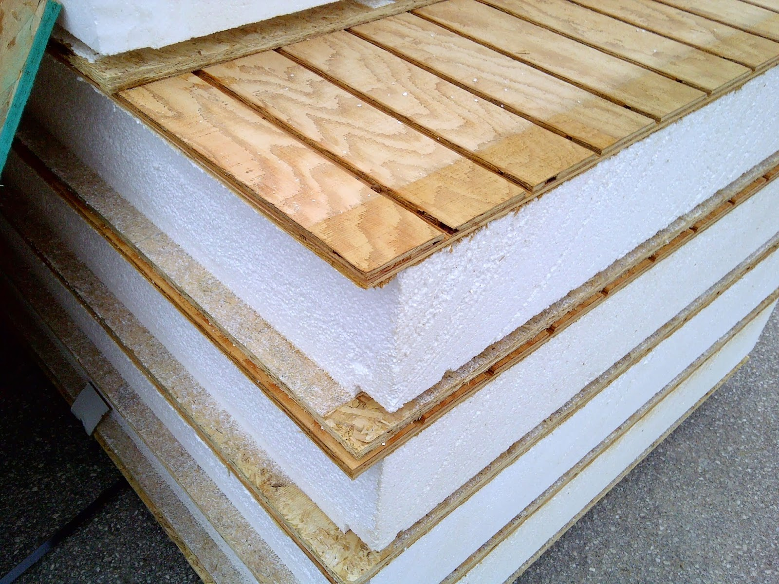 Wall Structural Insulated Panels : Structural insulated panels save money on energy penny