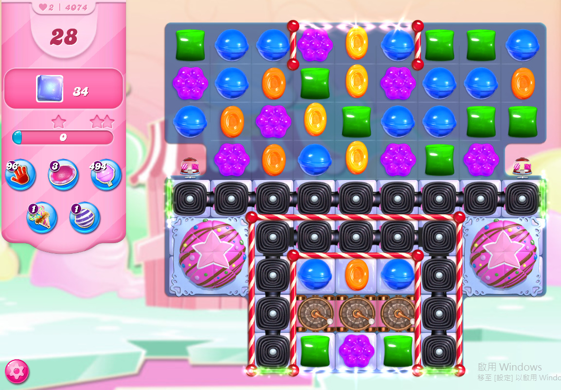 Candy Crush Saga level 4074