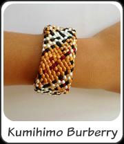 Kumihimo Burberry
