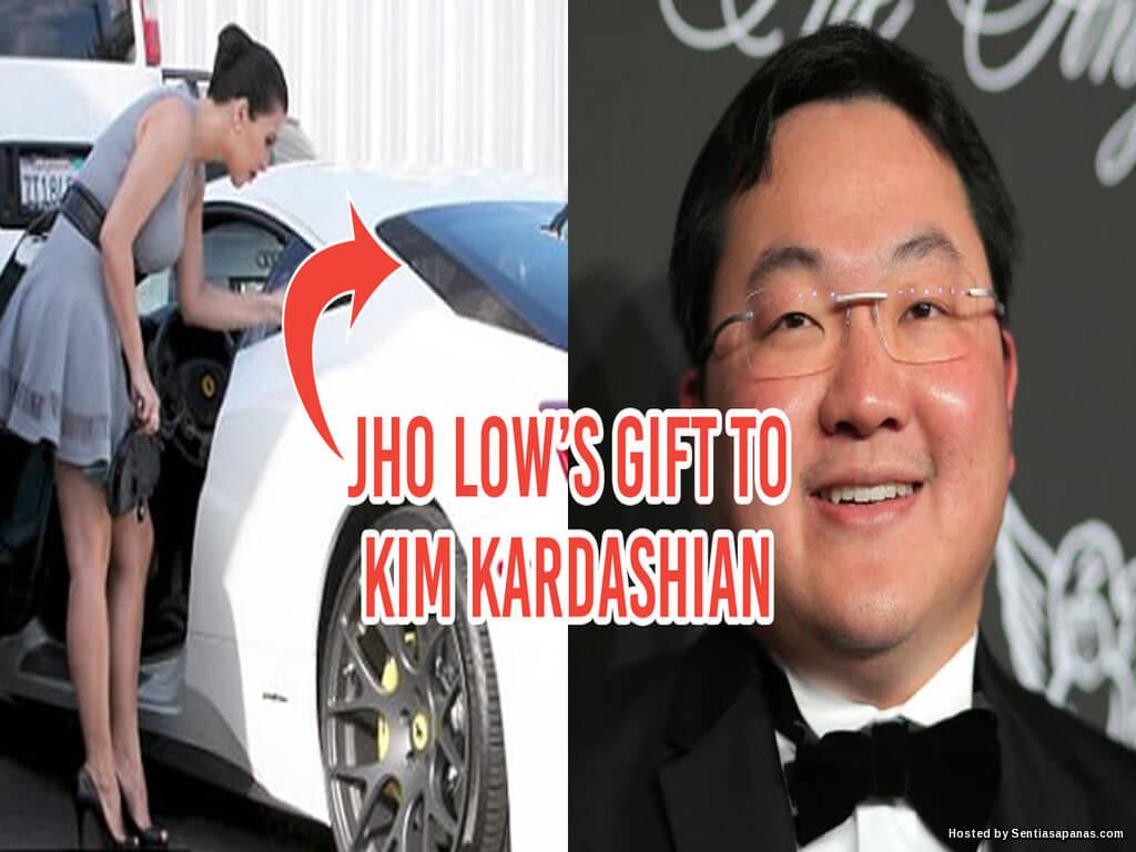 Jho Low Hadiahkan Kim Kardashian Ferrari