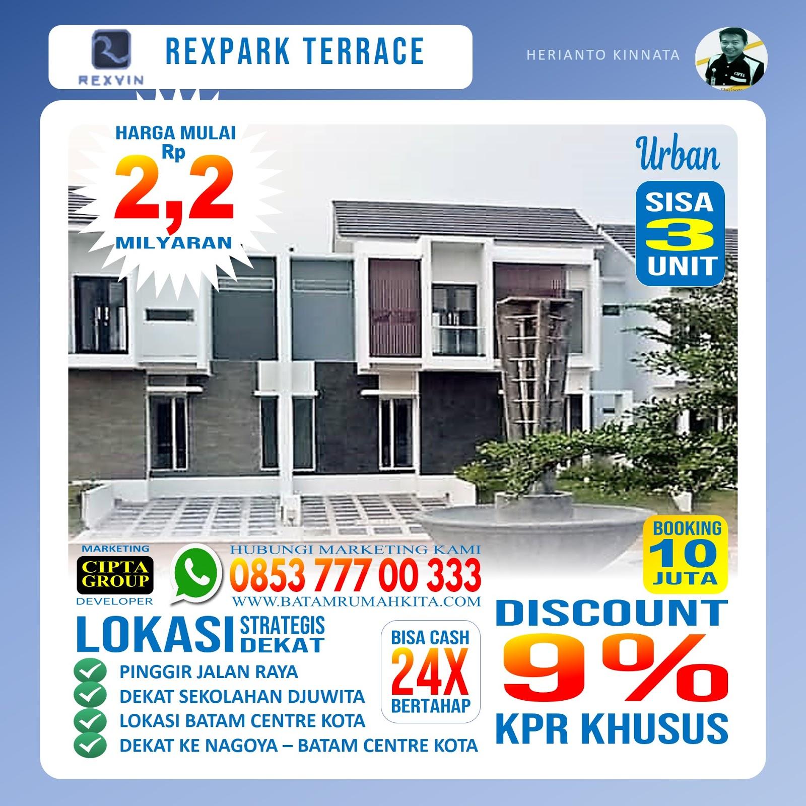 Perumahan Rexpark Terrace - Type urban -2