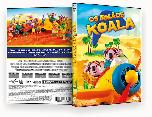 CAPA DVD – Os Irmaos Koalas Dublado – ISO