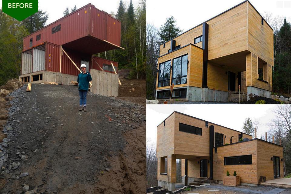 Icono interiorismo casas construidas con contenedores - Modulos de casas ...