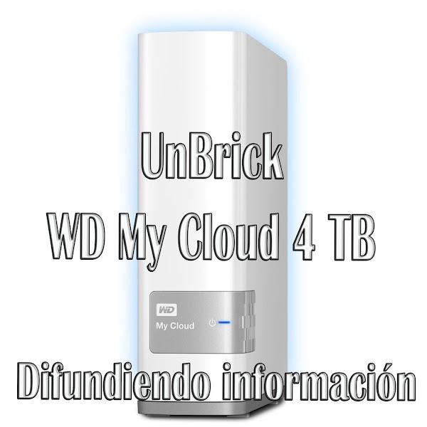 Unbrick WD My Cloud 4 TB Con R-drive