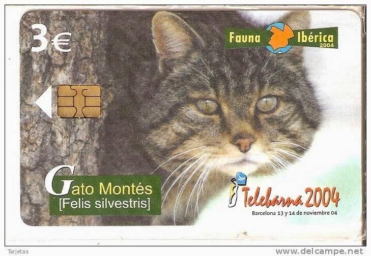 Tarjeta telefónica Gato montés (Felis silvestris)