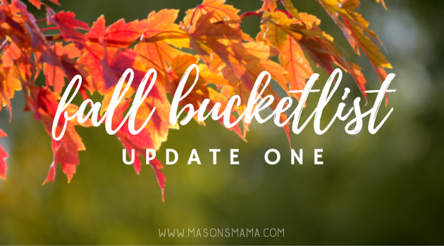 HALL AROUND TEXAS - FALL BUCKETLIST UPDATE #ONE