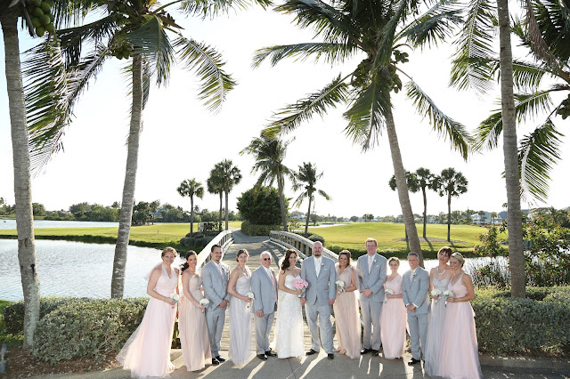 sanibel island wedding party