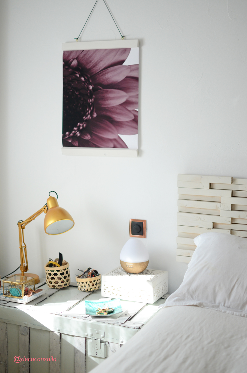 decoracion pared dormitorio