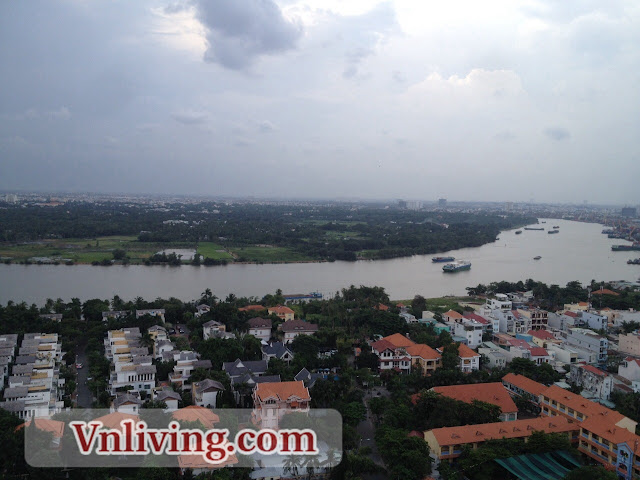 The Vista apartment for rent 2 bedrooms Saigon River View Tower 3