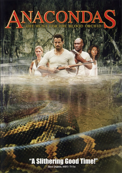 Poster of Anacondas The Hunt for the Blood Orchid 2004 Dual Audio 720p HDRip ESubs Download