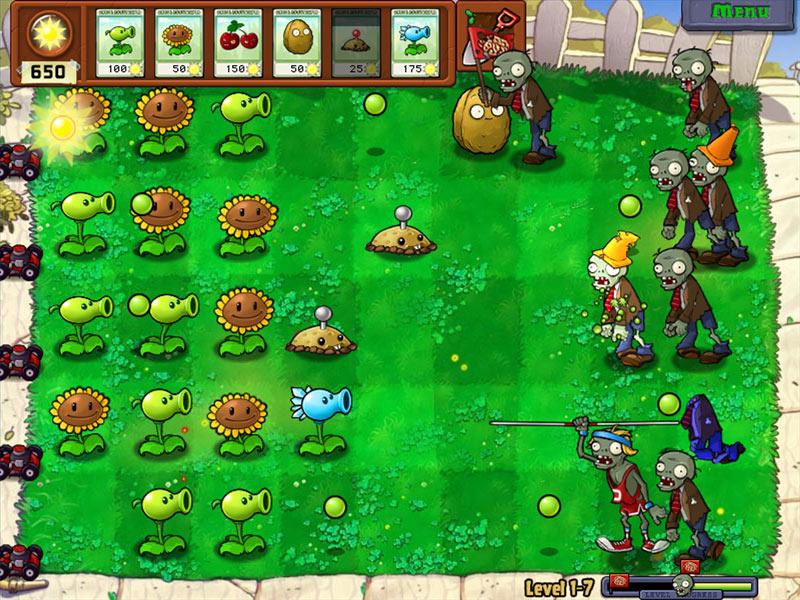 Game play Plant vs Zombies:Garden warfare
