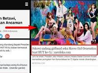 Jokowi Ingatkan Ancaman Budaya Asing, Tapi Undang Girlband KOREA? Netizen: Maksud Asing itu ARAB