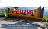 Panorama Lereng Singgalang