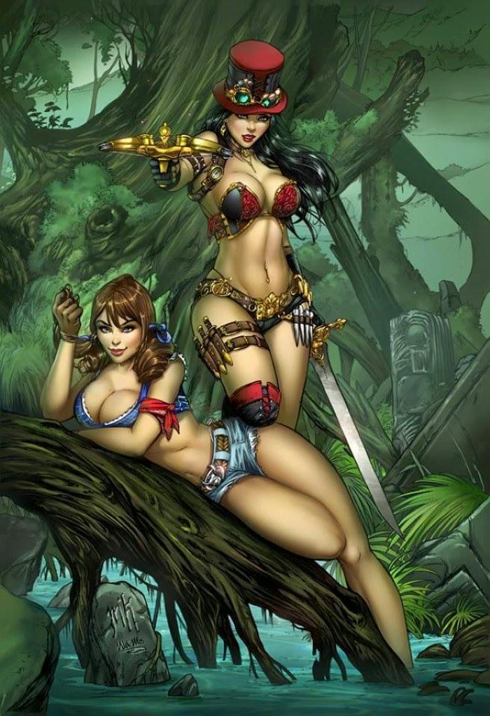 Шикарные женщины с шикарными формами. Ula Mos