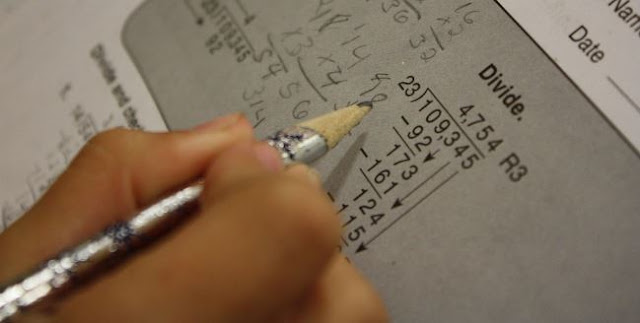 long division calculation