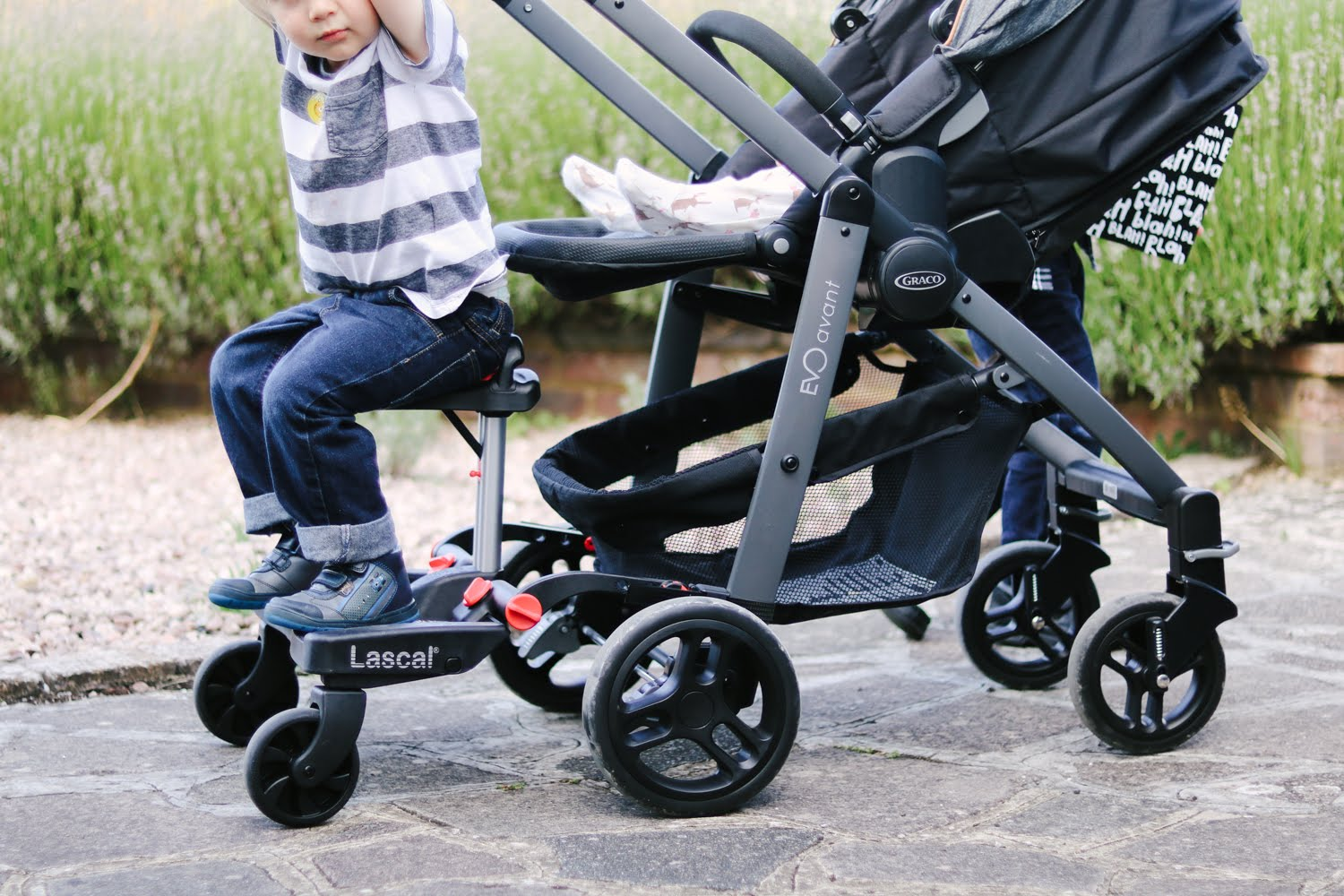 Review Lascal Maxi Plus Buggyboard Quite Frankly She Said