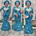 Creative And Beautiful Aso Ebi Styles For Ladies