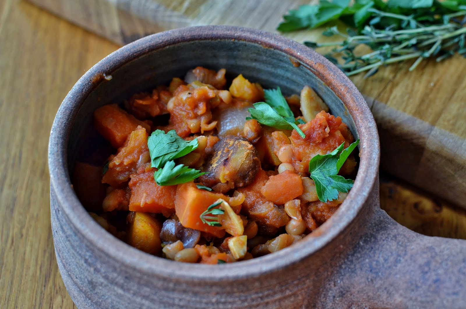 Individual Vegetable French Cassoulet