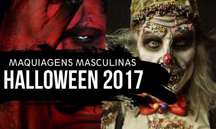 Halloween Maquiagem Masculina 2017