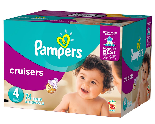 Pampers Cruisers with Extra Absorb Channels #SagToSwag