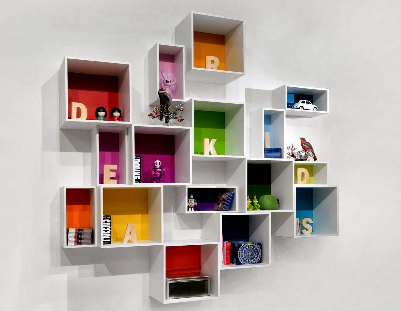 50 Desain Rak Dinding Minimalis Termasuk Buku Desainrumahnya