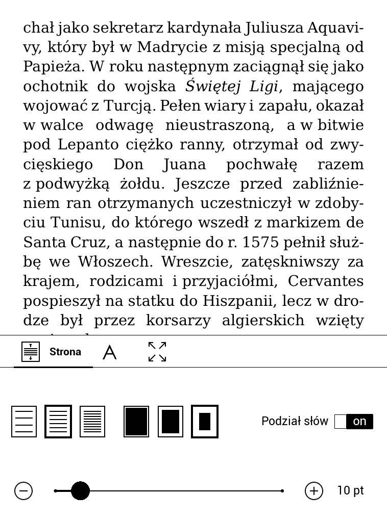 PocketBook Touch Lux 4 – najszersze marginesy