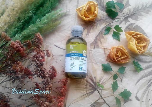 Шампунь-Свежесть-и-легкость-O'Herbal-vasilenaspace.blogspot.com