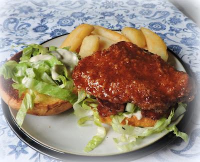 Honey Hot Chicken Burgers