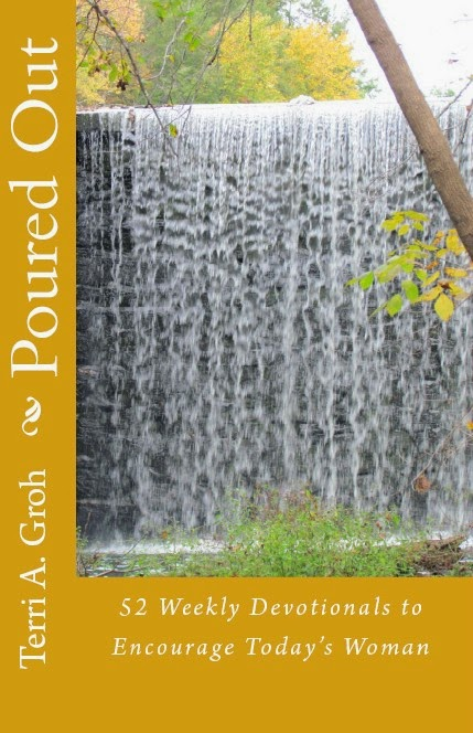 http://www.amazon.com/Poured-Out-Weekly-Devotionals-Encourage/dp/1492760013/ref=sr_1_1?ie=UTF8&qid=1395642259&sr=8-1&keywords=Poured+Out