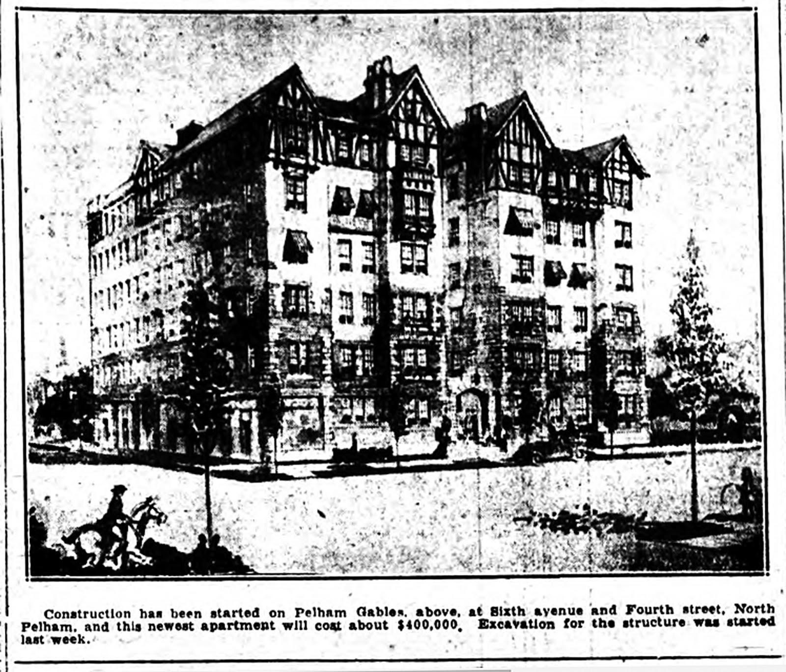 Historic pelham the building boom in pelham in 1925 and for The pelham